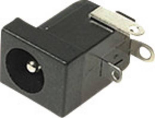 Niedervolt-Steckverbinder Buchse, Einbau horizontal 6.3 mm 2.5 mm Cliff DC-10B 1 St.
