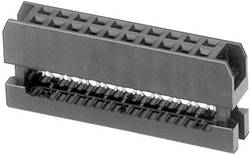 Konektor pre ploché káble W & P Products 343-20-60-1, raster: 2 mm, počet pólov: 20, 1 ks