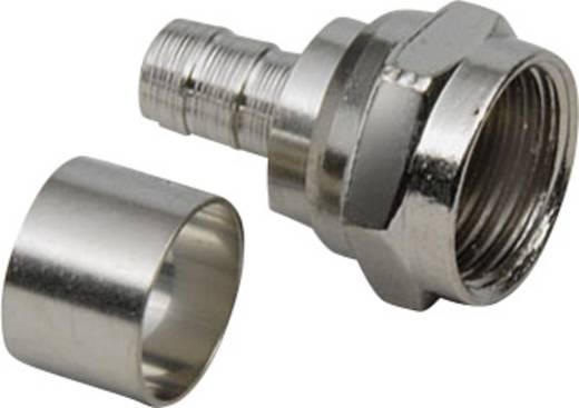 F-Crimp-Stecker Kabel-Durchmesser: 7 mm