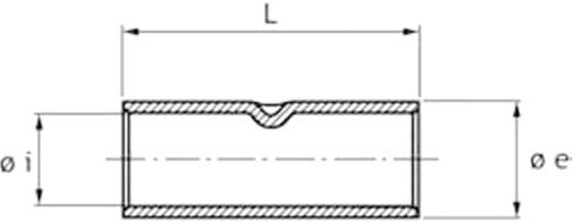 Stoßverbinder 4 mm² Unisoliert Metall Cimco 180906 1 St.