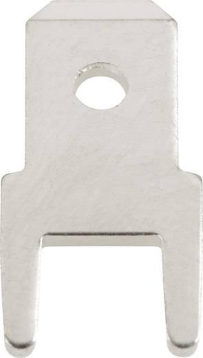 Steckzunge Steckbreite: 4.8 mm Steckdicke: 0.8 mm 180 ° Unisoliert Metall Vogt Verbindungstechnik 382508.68 100 St.