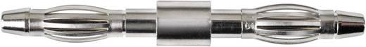 Sicherungs-Steckverbinder Stecker 4 mm - Stecker 4 mm Nickel Schützinger DFK 2154 1 St.