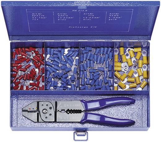 Quetschverbinder-Sortiment 0.5 mm² 2.5 mm² Rot, Blau, Gelb Klauke MK210B 176 St.