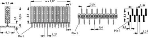 Fischer Elektronik Buchsenleiste (Standard) Anzahl Reihen: 1 Polzahl je Reihe: 20 BLM 1 SMD/ 20/Z 1 St.