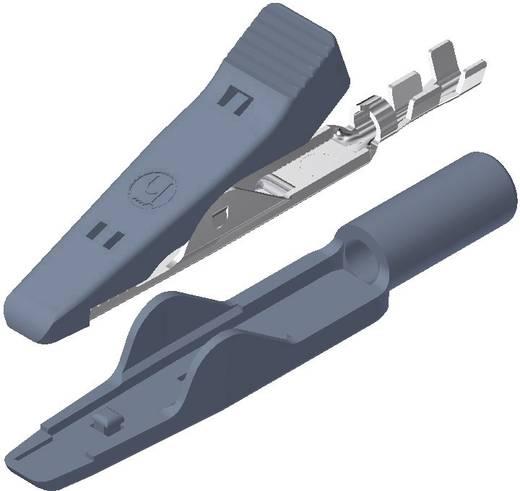 Miniatur-Abgreifklemme Grau Klemmbereich max.: 4 mm Länge: 41.5 mm SKS Hirschmann MA 1 1 St.
