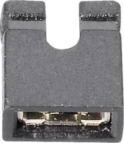 Shunt ouvert Fischer Elektronik CAB 11 G S Pôle:2 Pas: 2 mm noir 1 pc(s)