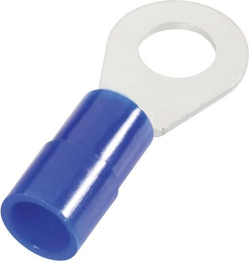 Ringkabelschuh Querschnitt (max.)=2.5 mm² Loch-Ø=6 mm Teilisoliert Blau Cimco 180038 1 St.