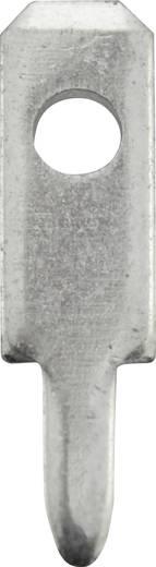 Steckzunge Steckbreite: 2.8 mm Steckdicke: 0.8 mm 180 ° Unisoliert Metall Vogt Verbindungstechnik 3780A08.68 100 St.