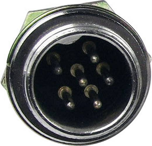 Miniatur-DIN-Rundsteckverbinder Stecker, Einbau vertikal Polzahl: 4 Silber Cliff FC684204 1 St.