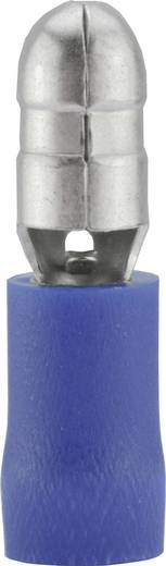 Rundstecker 1.50 mm² 2.50 mm² Stift-Ø: 5 mm Teilisoliert Blau Vogt Verbindungstechnik 3921S 1 St.