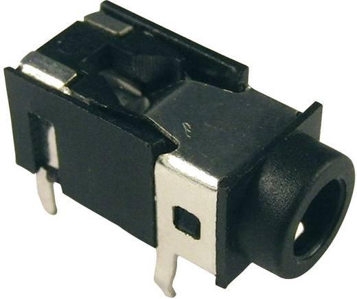 Klinken-Steckverbinder 3.5 mm Buchse, Einbau horizontal Polzahl: 4 Stereo Schwarz Cliff FC68127 1 St.