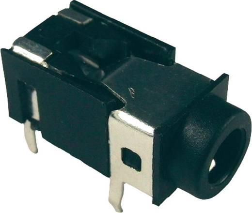 Klinken-Steckverbinder 3.5 mm Buchse, Einbau horizontal Polzahl: 4 Stereo Schwarz Cliff FC68129 1 St.