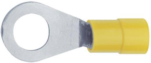 Ringkabelschuh Querschnitt (max.)=0.4 mm² Loch-Ø=4.4 mm Teilisoliert Gelb Klauke 6194 1 St.