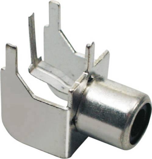 Cinch-Steckverbinder Buchse, Einbau horizontal Polzahl: 2 Silber BKL Electronic 72345 1 St.
