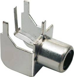 Image of Cinch-Steckverbinder Buchse, Einbau horizontal Polzahl: 2 Silber BKL Electronic 072345 1 St.