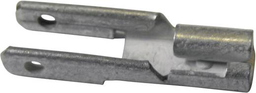 Flachsteckverteiler mit Abzweig Steckbreite: 2.8 mm Steckdicke: 0.8 mm 180 ° Unisoliert Metall Vogt Verbindungstechnik 378108.67 1 St.