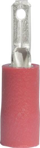 Flachstecker Steckbreite: 2.8 mm Steckdicke: 0.8 mm 180 ° Teilisoliert Rot Vogt Verbindungstechnik 391308 1 St.