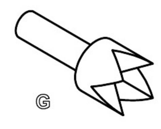 PTR 1010-G-0.8N-RH-1.5 Präzisions-Prüfstift für Leiterplattenprüfung, Federkontakt