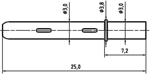 PTR H 1040 Präzisions-Prüfstift für Leiterplattenprüfung, Federkontakt