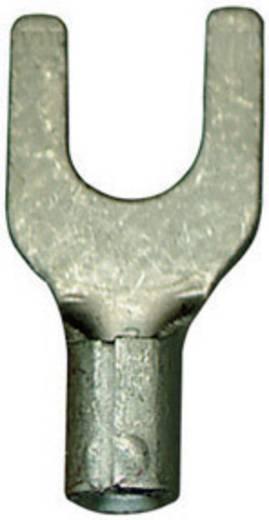 Gabelkabelschuh 4 mm² 6 mm² Loch-Ø=6.4 mm Unisoliert Metall Vogt Verbindungstechnik 3534C 1 St.