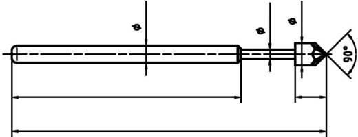PTR 1015-K-0.7N-AU-1.8 Präzisions-Prüfstift für Leiterplattenprüfung, Federkontakt