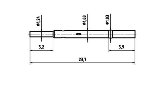 PTR H 1015 C Präzisions-Prüfstift für Leiterplattenprüfung, Federkontakt