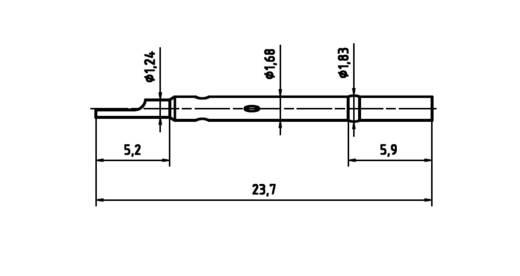 PTR H 1015 L Präzisions-Prüfstift für Leiterplattenprüfung, Federkontakt