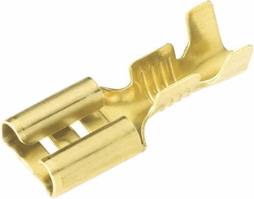 Flachsteckhülse Steckbreite: 2.8 mm Steckdicke: 0.8 mm 180 ° Unisoliert Metall Vogt Verbindungstechnik 3762A.60 1 St.