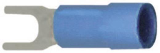 Gabelkabelschuh 1.5 mm² 2.5 mm² Loch-Ø=3.2 mm Teilisoliert Blau Vogt Verbindungstechnik 3623C 1 St.