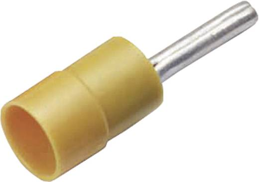 Stiftkabelschuh 4 mm² 6 mm² Teilisoliert Gelb Cimco 180226 1 St.