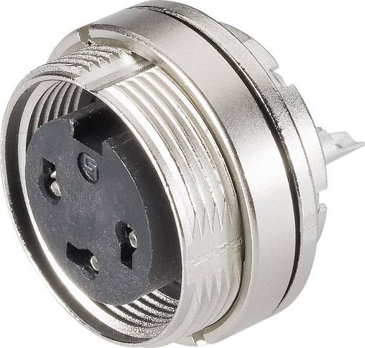 Miniatur-Rundsteckverbinder Serie 723 Pole: 4 Flanschdose 6 A 09-0112-80-04 Binder 1 St.