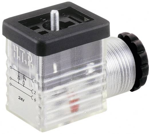 Ventilstecker Transparent M1TS2DL1 Pole:2 + PE HTP Inhalt: 1 St.