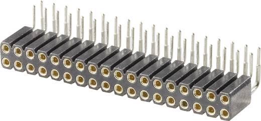 Buchsenleiste (Präzision) Anzahl Reihen: 2 Polzahl je Reihe: 10 W & P Products 154-020-2-50-10 1 St.