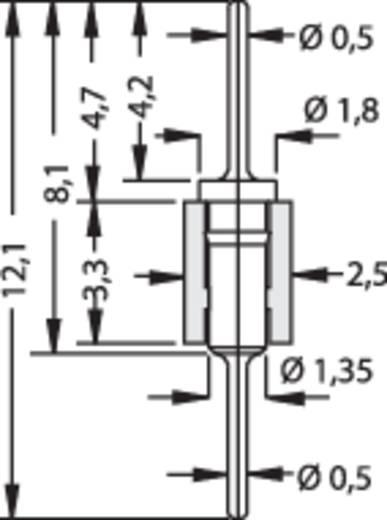 Stiftleiste (Präzision) Anzahl Reihen: 1 Polzahl je Reihe: 50 Fischer Elektronik MK 05/ 50/G 1 St.