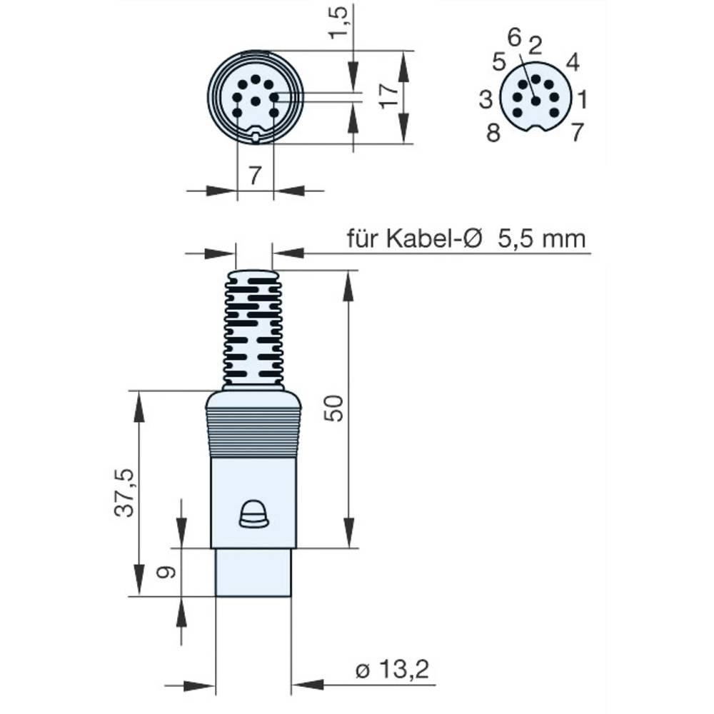 Großartig 7 Pin Rundstecker Stecker Diagramm Ideen - Elektrische ...