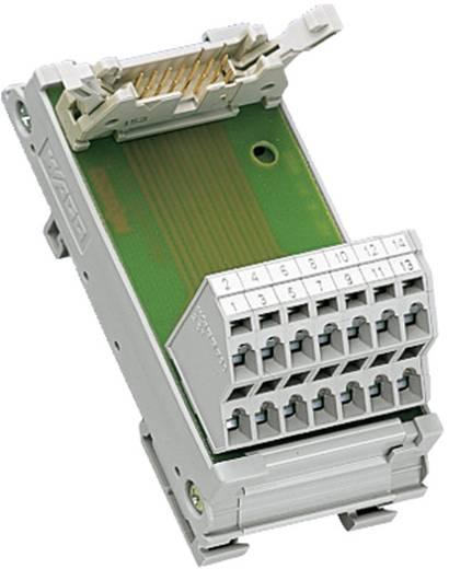 Übergabebaustein für Flachbandkabel Stecker 0.08 - 2.5 mm² Pole: 16 289-613 WAGO Inhalt: 1 St.