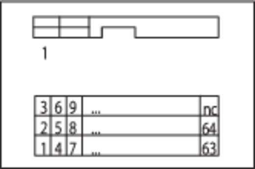 Übergabebaustein für Flachbandkabel Stecker 0.08 - 2.5 mm² Pole: 50 50 WAY,IDC CONN.TO PCB TERMINALS WAGO Inhalt: 1 St.