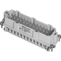 Vložka pinového konektoru Heavy|mate® C146 Amphenol C146 10A024 002 1, počet kontaktů 24 + PE, 1 ks