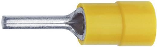 Stiftkabelschuh 0.1 mm² 0.4 mm² Teilisoliert Gelb Klauke 704 1 St.