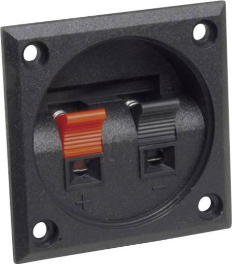 Lautsprecher-Steckverbinder Buchse, Einbau vertikal Polzahl: 2 Schwarz BKL Electronic 205027 1 St.