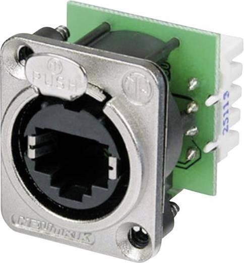 RJ45 Datensteckverbinder etherCon® D Serie Buchse, gerade NE8FDV-YK Pole: 8P8C NE8FDV-YK Nickel Neutrik NE8FDV-YK 1 St.