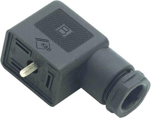 Magnetventilsteckverbinder Bauform B Serie 225 Schwarz 43-1832-110-03 Pole:2 + PE Binder Inhalt: 1 St.