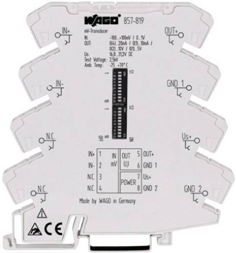 Millivolt-Messumformer WAGO 857-819 857-819 1 St.