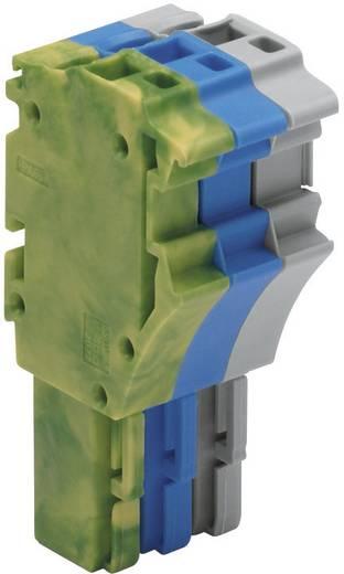 1-Leiter-Federleisten Serie 2022 0.25 - 2.5 mm² Grau, Blau, Grün-Gelb WAGO 1 St.