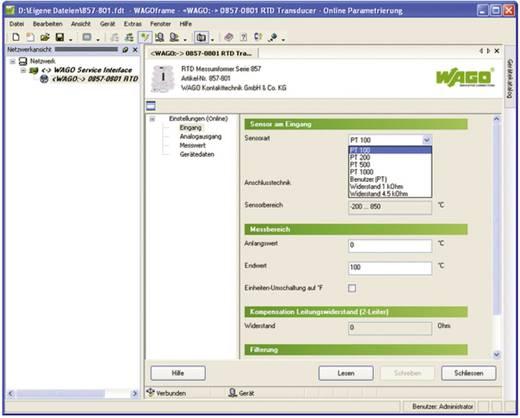 Rahmenapplikationssoftware WAGOframe WAGO 759-370 1 St.