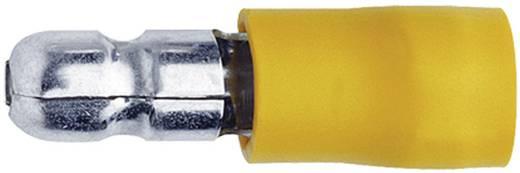Rundstecker 4 mm² 6 mm² Stift-Ø: 5 mm Teilisoliert Gelb Klauke 1050 1 St.