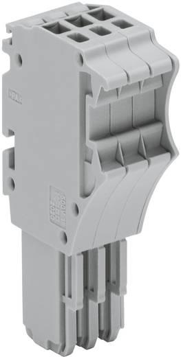 X-COM® S-SYSTEM-MINI 1-Leiter-Federleisten 0.14 - 1.5 mm² Grau WAGO 1 St.