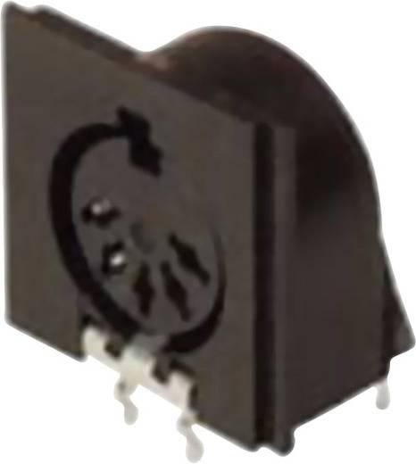DIN-Rundsteckverbinder Buchse, Einbau horizontal Polzahl: 5 Schwarz Hirschmann MAB 5SH 1 St.
