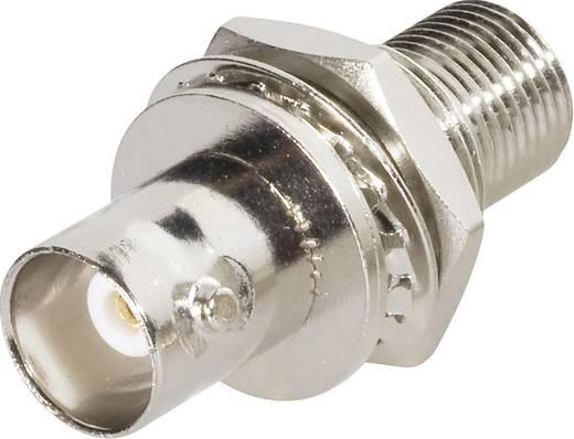 BNC-Durchführung BNC-Buchse - F-Buchse BKL Electronic 0411284 1 St.