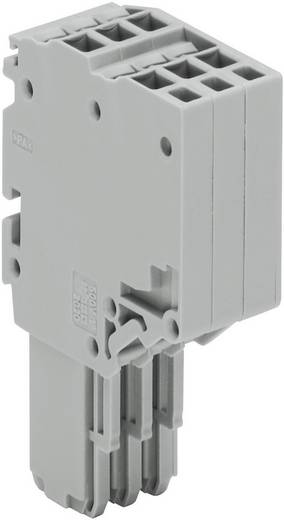 X-COM® S-SYSTEM-MINI 2-Leiter-Federleisten 0.14 - 1.5 mm² 2020-203 Grau WAGO 1 St.